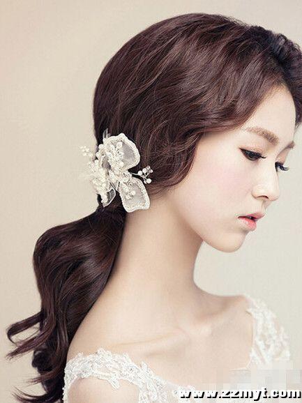 韩式新娘发型图片2016图片