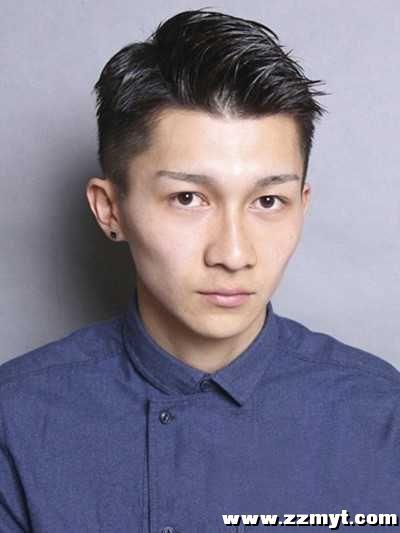 阳光魅力韩式男士发型